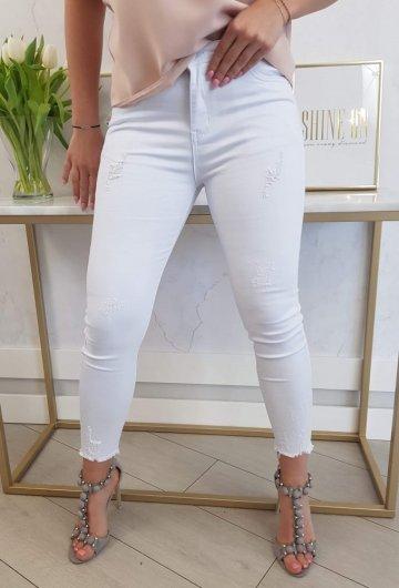 Spodnie VS Białe 10